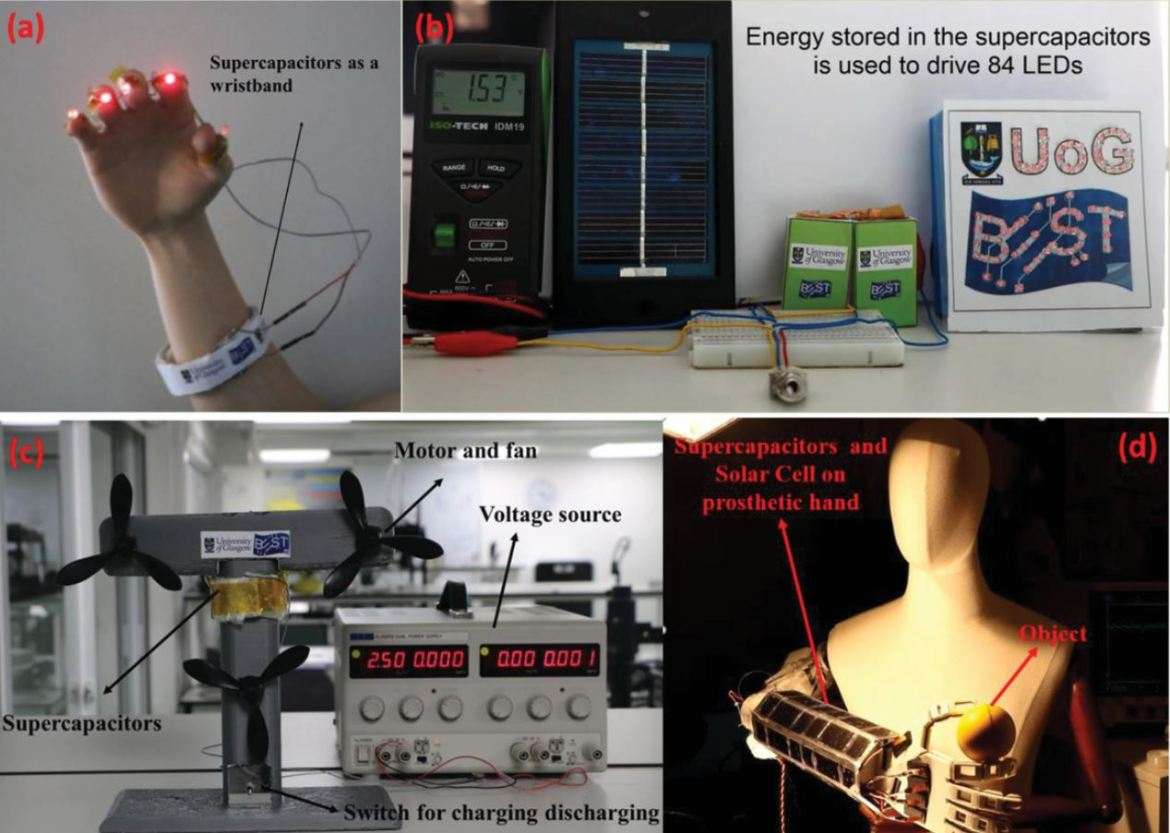 Solar-powered prosthetics article - image 1