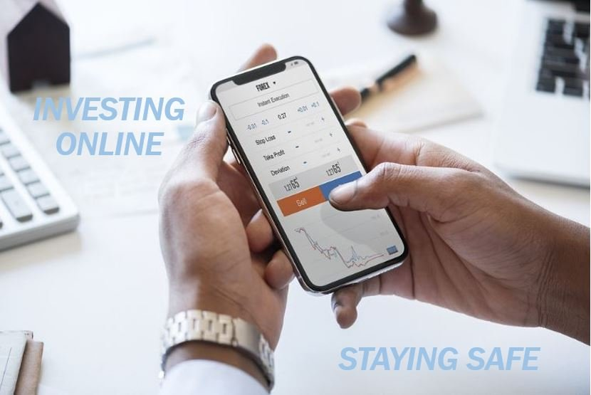 Staying safe investing online image for article