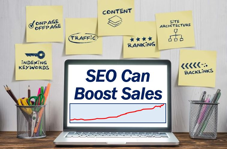 SEO can boost sales