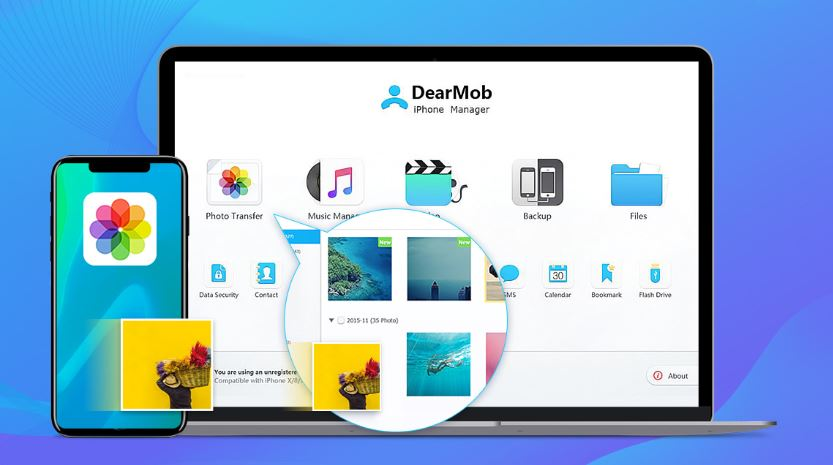 DearMob iPhone Manager image 4444