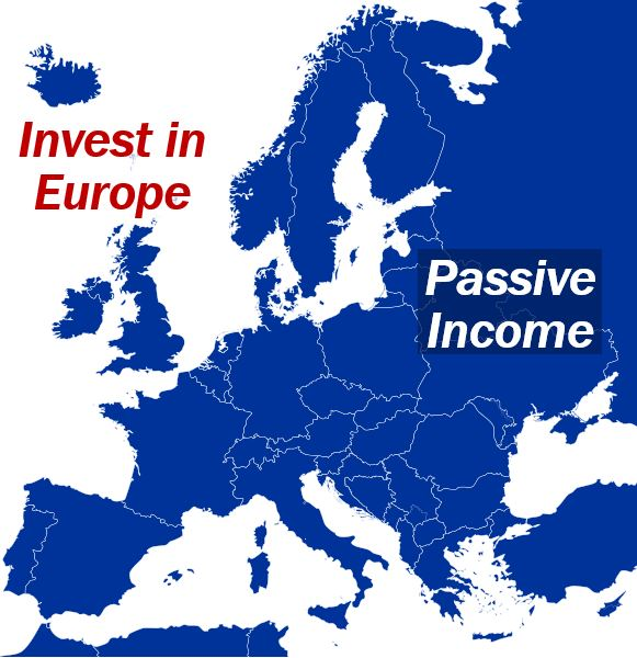 Invest in Europe passive income image for article 344444