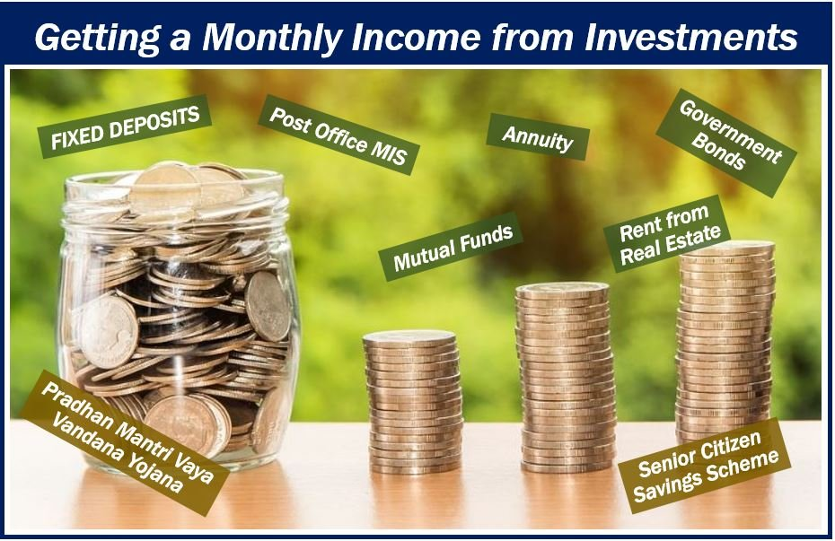 Monthly income from investments image 83888388383