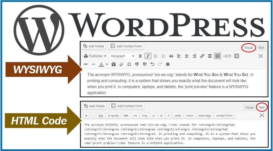 WYSIWYG image WordPress 54444