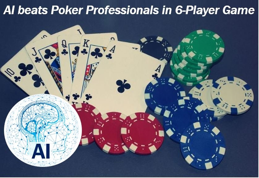 AI beats professionals in six-player poker game