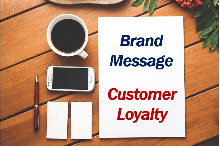 Brand message customer loyalty 44444