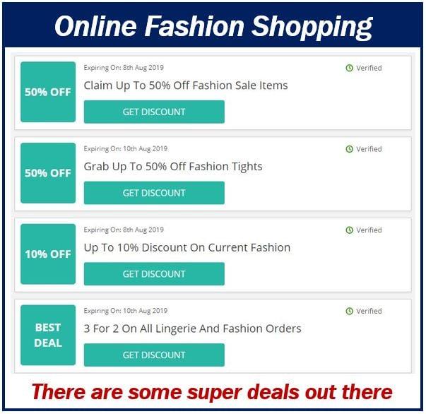 Online fashion shopping 499999