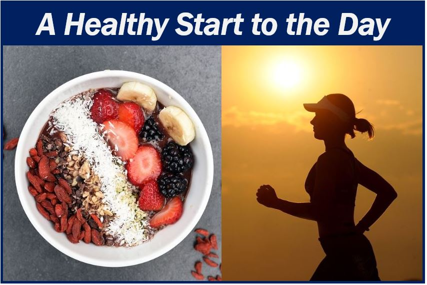 A healthy start to the day image 44444