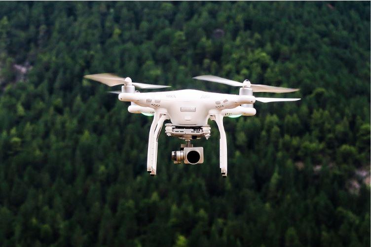 Aerial drones 112