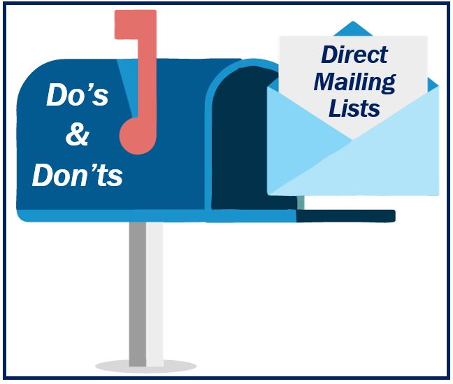 Direct mailing lists image