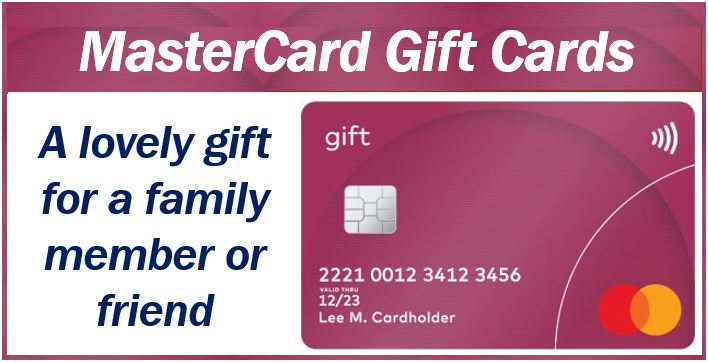 MasterCard gift image 4444444