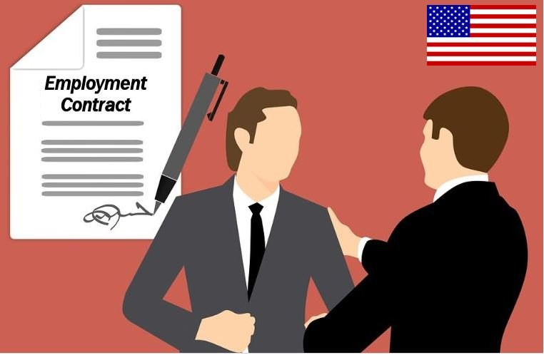 Employment contract in the US