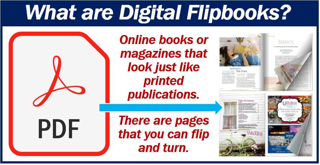 Digital flipbooks: definition and utilization in business