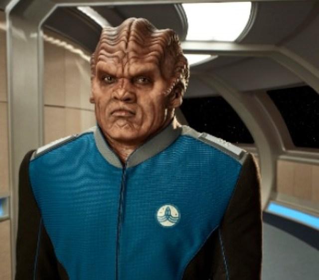 Lieutenant commander of Bortus