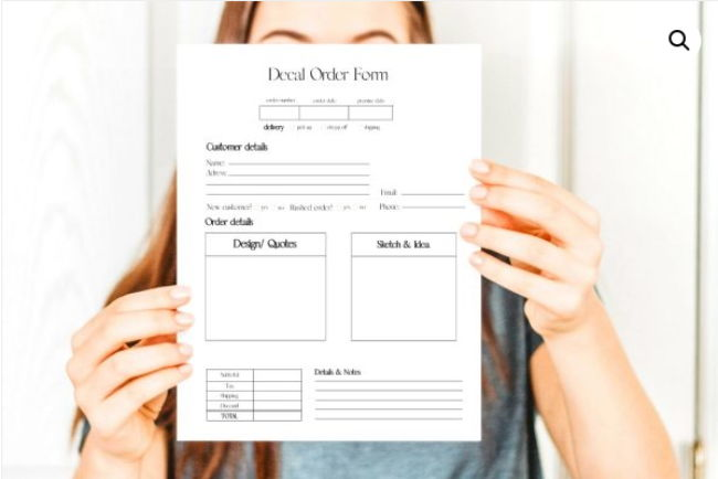 Types and Importance of Order Forms