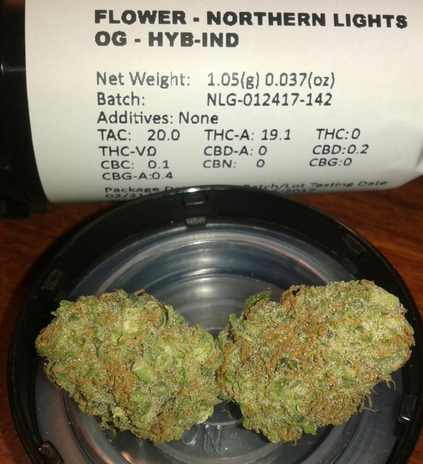 Northern Lights Strain Indica