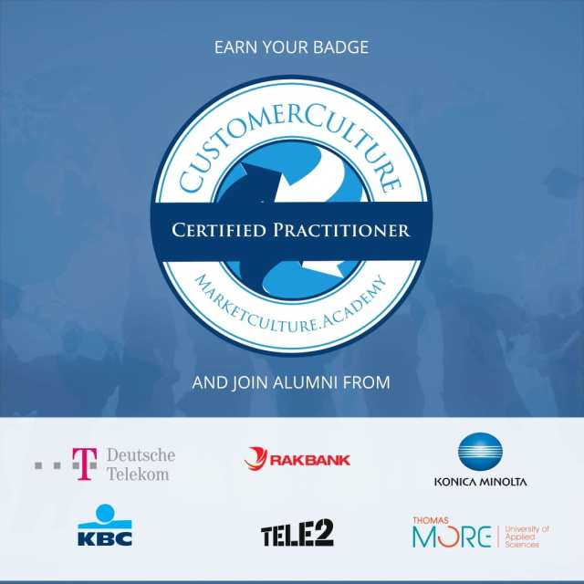 Earn Your Customer-Centric Culture Practitioner Badge