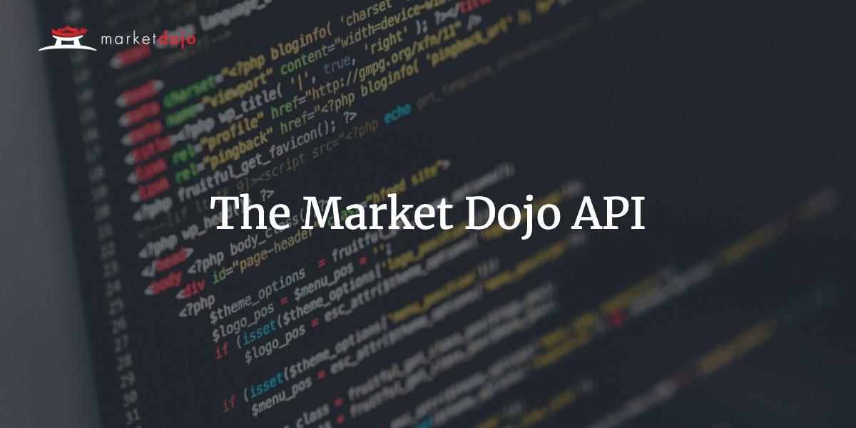 The Market Dojo API