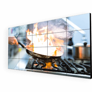 ΨΗΦΙΑΚΟ VIDEO WALL ΕΣΤΙΑΤΟΡΙΟΥ (Digital Media Video Wall For Restaurants) - MARKETEAT.COM