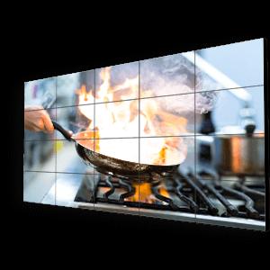 ΨΗΦΙΑΚΟ VIDEO WALL ΕΣΤΙΑΤΟΡΙΟΥ (Digital Media Video Wall For Restaurants) - MARKETEAT.COM