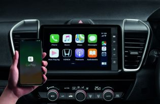 All-new Honda City_7-inch Advanced Touch Display Audio with Apple CarPlay