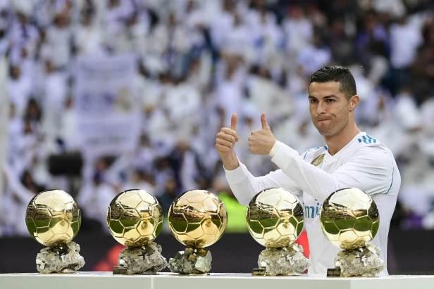 Ronaldo VS Messi Gold Ball
