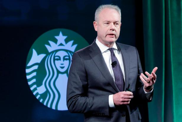 Starbucks Kevin Johnson