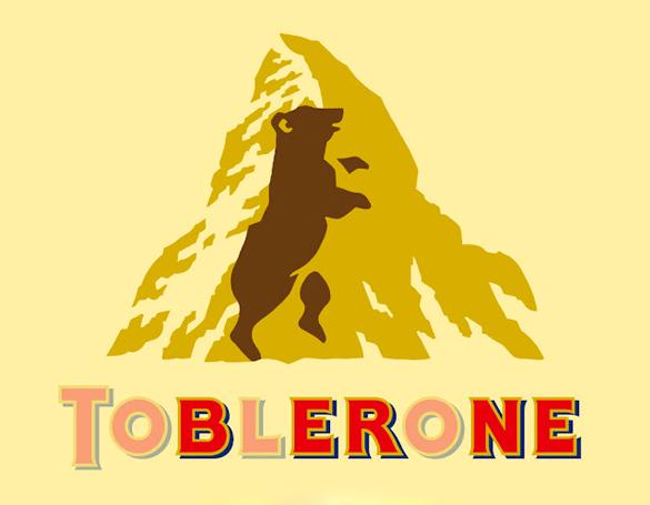 แบรนด์ดัง Toblerone