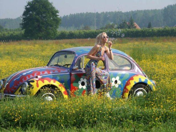 """""""รถเต่า"""" Hippie"""