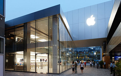 ชาวจีน Apple Store Beijing