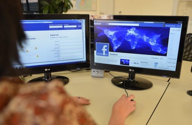 Facebook Desktop Screen