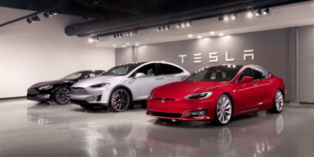 Murdoch Tesla Car