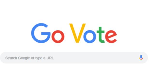เลือกตั้งกลางเทอม Google