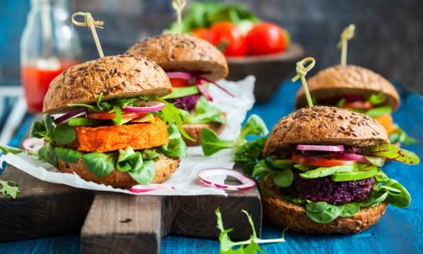vegan Burger king