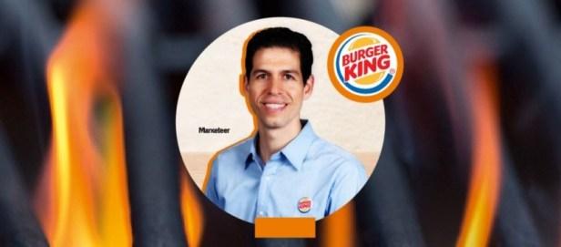 BURGER KING CEO