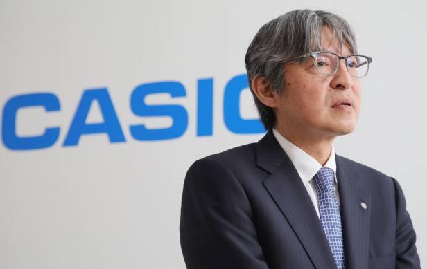 Casio CEO Kazuhiro Kashio