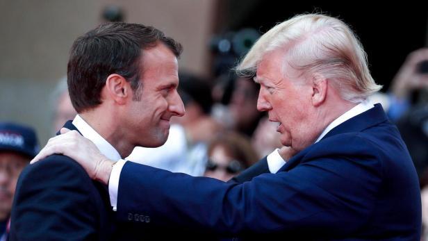 ภาษี Trump Macron