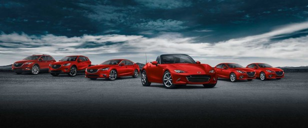 Mazda-Lineup