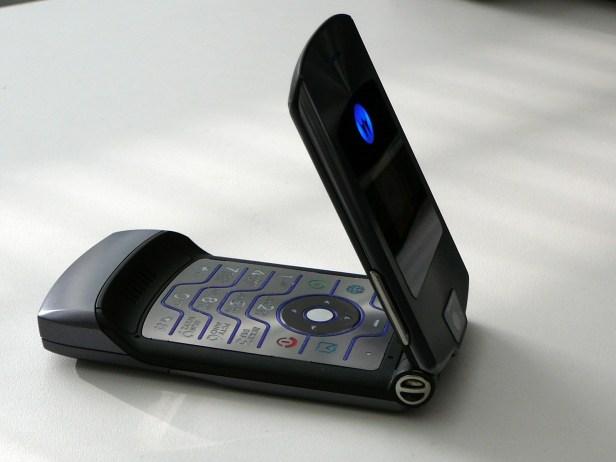 Motorolla Razr Samsung