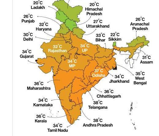 อินเดีย Map