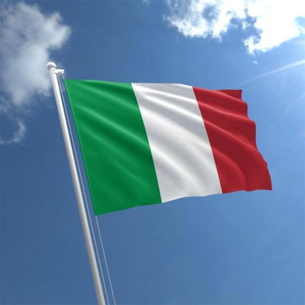 Italy Flag Lombardy เกาหลีใต้ อิตาลี