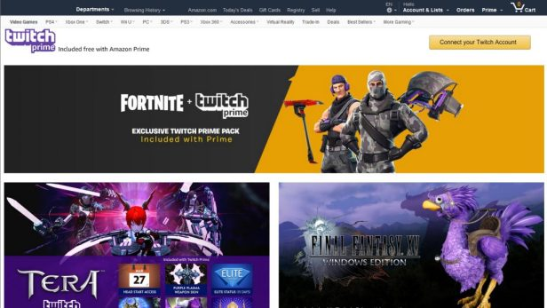 Amazon รวยเงียบ Twitch