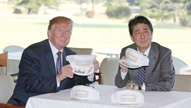 Shinzo Abe Trump