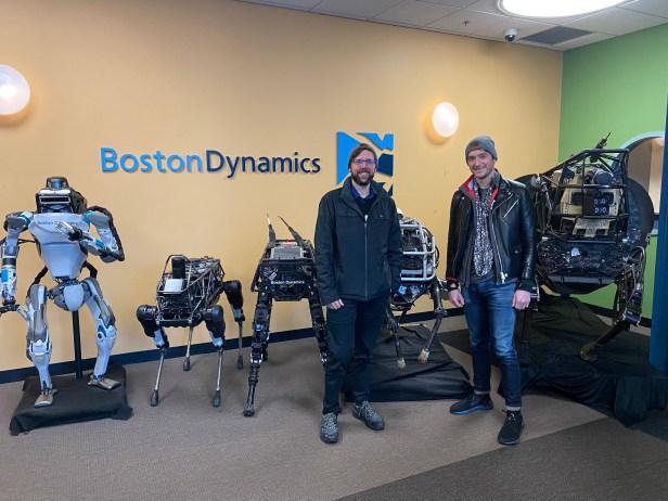 Boston Dynamic HQ Hyundai