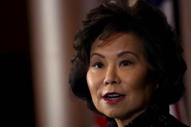 Elaine Chao 2 คมนาคมสหรัฐ