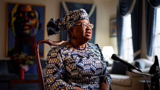 President Ngozi Okonjo-Iweala