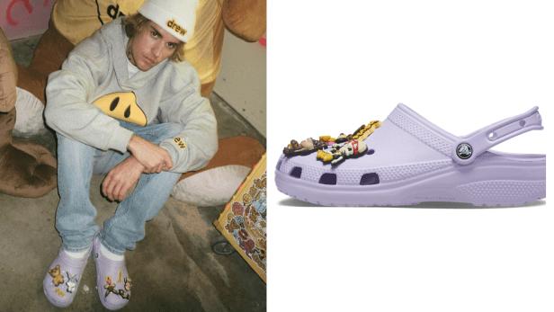 crocs Bieber