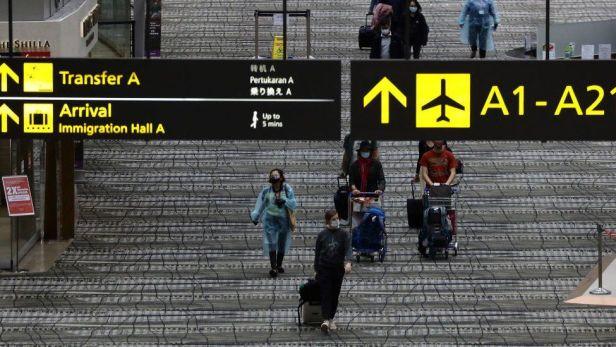 สนามบิน ไต้หวัน สิงคโปร์