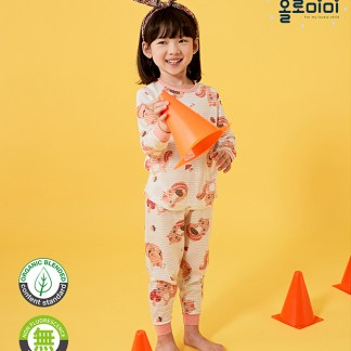 Olomimi Cutie Squirrel Kid Pyjamas Set