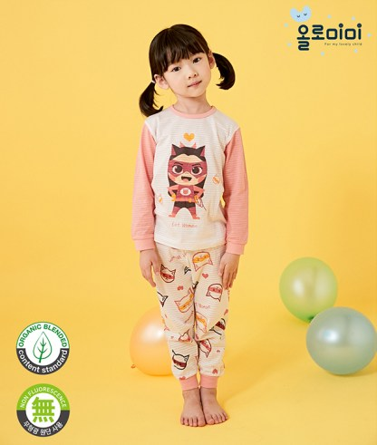Olomimi Cat Woman Kid Pyjamas Set
