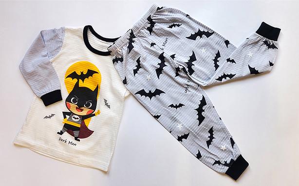 Olomimi Dark Man Kid Pyjamas Set Product showing